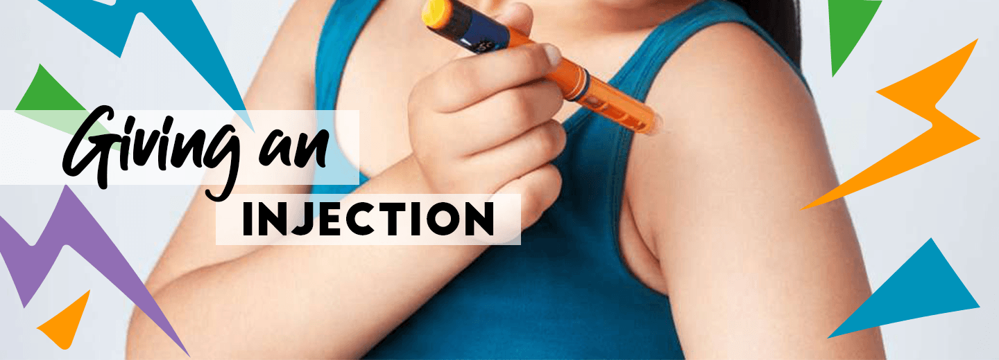 Giving an injection